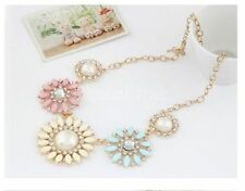 Crystal Statement Marquise Costume Necklaces & Pendants