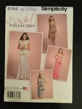 Simplicity 8164 D5 - Bridal Petite Two Piece Dress (New Sewing Pattern) Wedding