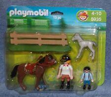 PLAYMOBIL DELUXE FIGURE PONY FARM SET #5935