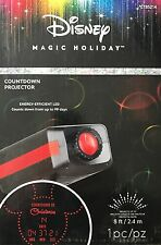 Disney / Gemmy Magic Holiday Mickey Mouse Christmas Countdown Projector - NEW