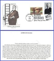 USA3 #3226 U/A ARTMASTER FDC Combo2  Alfred Hitchcock