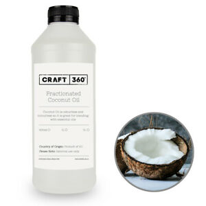 FRACTIONATED COCONUT OIL 100% Natural Cosmetic Carrier Base Massage MCT Liquid