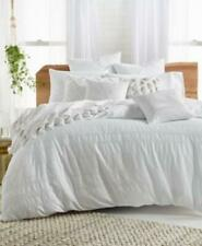 Lucky Brand Stripe Embroidered 3-Pc. King Comforter Set NWT