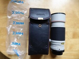 CANON FIT SIGMA 50-200MM ZOOM LENS