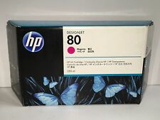 Hewlett Packard #80 DeskJet Magenta Ink Cartridge (1050c) C4847A?LA ✔➔➨ ✔➔➨