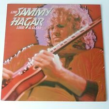 Sammy Hagar - Loud and Clear - Red Coloured Vinyl LP 1st Press EX/EX