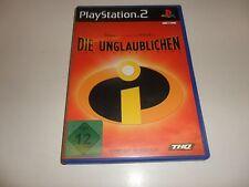 PlayStation 2  PS 2  Die Unglaublichen - The Incredibles
