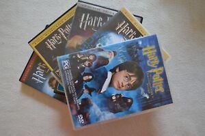 Various Harry Potter DVDs Choose From Chamber Of Secrets Prisoner Of Azkaban