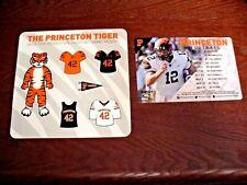 Princeton U. 2018 Football Magnetic Schedule & Tiger Magnets - John Lovett - NEW
