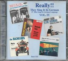 "RARO CD GERMANY BRANI IN TEDESCO "" REALLY !! THEY SING IT IN GERMAN VOL. 4 """