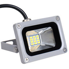 12V LED LOW ENERGY LIGHT 10W DAY WHITE HIGHT POWER SAVING FLOOD LIGHT LAMP