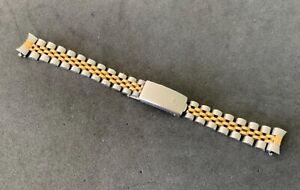 Authentic 1988 Rolex 62523HD18 13MM 18K/SS Bracelet For Rolex 69173 26MM Watch