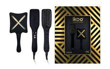 Ikoo Coleccionista Negro LIMITADA ORO e-styler Set Cepillo De Alisar + Paleta x