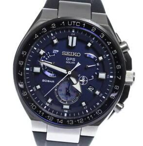 SEIKO Astron 8X53-0BB0-2/SBXB167 GPS Solar Powered Radio Men's Watch_565316