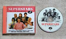 CD AUDIO DISQUE /SUPERSTARS DE LA CHANSON N°2 CD GALL/ HALLYDAY/ADAMO/ENRICO