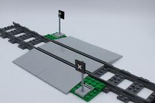 LEGO City Eisenbahn - unbeschrankter Bahnübergang - Bausatz NEU - aus Set 60198
