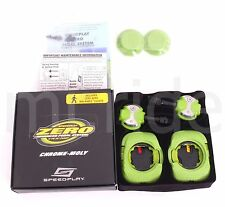 Speedplay Zero Chromoly Pedals Aero Walkable Cleats Road Racing Bike Green