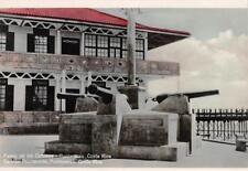 Rppc Paseo de los Canones, Puntarenas, Costa Rica Cannons 1941 Vintage Postcard