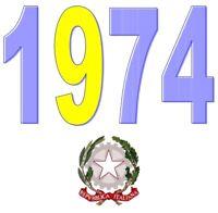 ITALIA Repubblica 1974 Spezzoni francobolli MNH **