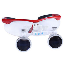 NEW 3.5X-R  Binocular Optical Dental Glass Head Loupe Surgical Surgery Flip Tool