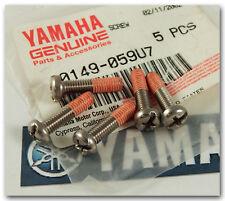 YAMAHA 1997 GP760 GP1200 WAVE RUNNER ENGINE HATCH LID LOCK SCREW QTY.5