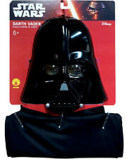 Star Wars Darth Vader Kids Cape And Mask Set. One Size