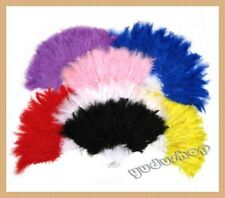 Federfächer Tanzfächer Handfächer viele Farben zu auswählen
