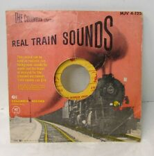Real Train Sounds ~ The Columbia Limited - MJV 4-125 ... Columbia Records