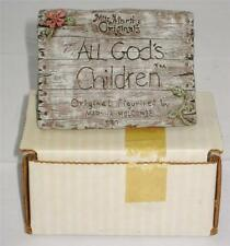Miss Martha Holcombe All God's Children #Placard or Sign, Mint in Box
