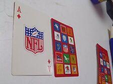 1963 Stancraft NFL Playing Card Ace Of Diamonds Logo Football