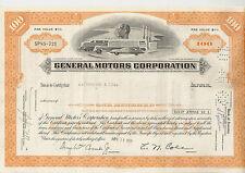 General Motors Corp. Delaware histor. Auto Aktie 1973 USA Cadillac Buick Opel GM