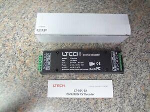 LTECH LT-854-5A DMX-PWM CV Decoder DMX512 Signal Light Strip Controller NEW