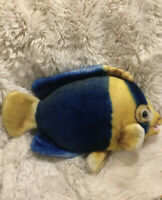 Blue Tang Tropical Fish Rare Soft Plush 17 Inches