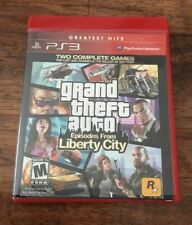 Grand Theft Auto: Episodes From Liberty City Playstation 3