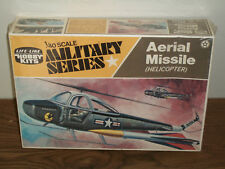 Life-Like 1/40 Scale Aerial Missile (Helicopter)-  Factory Sealed