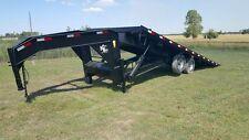Kerr Bilt 24 Gooseneck Hydraulic Tilt Container Trailer
