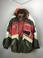 Descente Switzerland Men's Vintage Ski Jacket Coat 52 L XL Large Rare