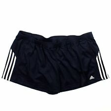 NEW Womens Adidas Running Workout Brio Shorts XX-LARGE Dark Navy/White