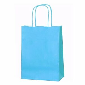 Paper Bags Party Bags Gift Bag Twisted Handles Birthday Wedding Brown Paper Bags