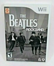 Wii The Beatles Rockband Video Game Includes Manual