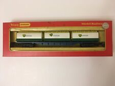 OO GAUGE TRIANG HORNBY R635 R.635 BR FREIGHTLINER WAGON 3 BP CHEMICAL CONTAINERS