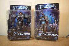 GENUINE Neca HEROES OF THE STORM Series 3 SYLVANAS & RAYNOR Action Figures