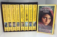 Brand New National Geographic Video Collection (VHS), Lot of 11 with Outer Box