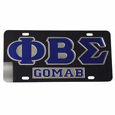 #7509 Phi Beta Sigma License Plate Car Tag