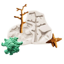 ChristmasTree Silicone Fondant Mould Cake Decorating Sugar Topper Chocolate Mold