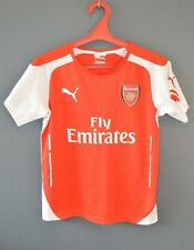 Arsenal London Football Soccer Mens Shirt Jersey 2014/2015 Size Youth L 5/5
