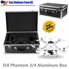 DJI Phantom 3&4 RC Drone Quadcopter Protective Hard Sided Box Carrying Case H1