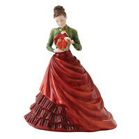 Royal Doulton Christmas Gift Pretty Ladies 2012 Signed Michael Doulton  New