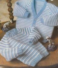 Toddler Children Knitting Pattern Raglan CARDIGAN Sweater 1 to 4 Years