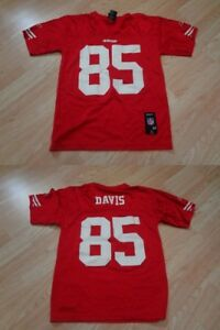 Youth San Francisco 49ers Vernon Davis M (10/12) Reebok Jersey
